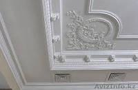 Монтаж декоративных лепных  изделий из гипса полиуретана и пенопласта