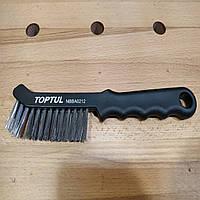 Щетка зачистная по металлу ручная TOPTUL NBBA0212