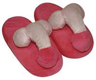 Тапочки з пенісом House Slippers Penis pink