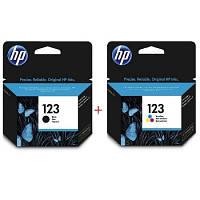Комплект струйных картриджей HP для Deskjet 2130 №123 Black/Color (Set123)