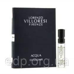 Lorenzo Villoresi Acqua di Colonia - туалетная вода - пробник (виалка) 1.5ml, парфюмерия унисекс ( EDP95868 )
