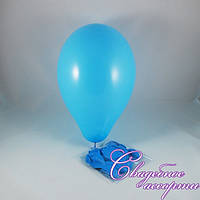 Воздушные шары голубые (10 шт.)