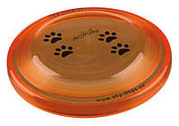 Летающая тарелка для собак Trixie Dog Activity, мягкий пластик, 23см, 33562