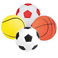 М'яч поролоновий Trixie, асорті 1 шт, 6см