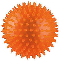М'яч-їжак термопластрезина Trixie, без звуку, 8см, 33651