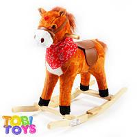 Лошадка качалка Tobi Toys K03