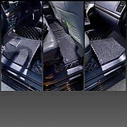 Комплект Ковриков 3D Toyota Land Cruiser 200 + доп ковриками ПВХ