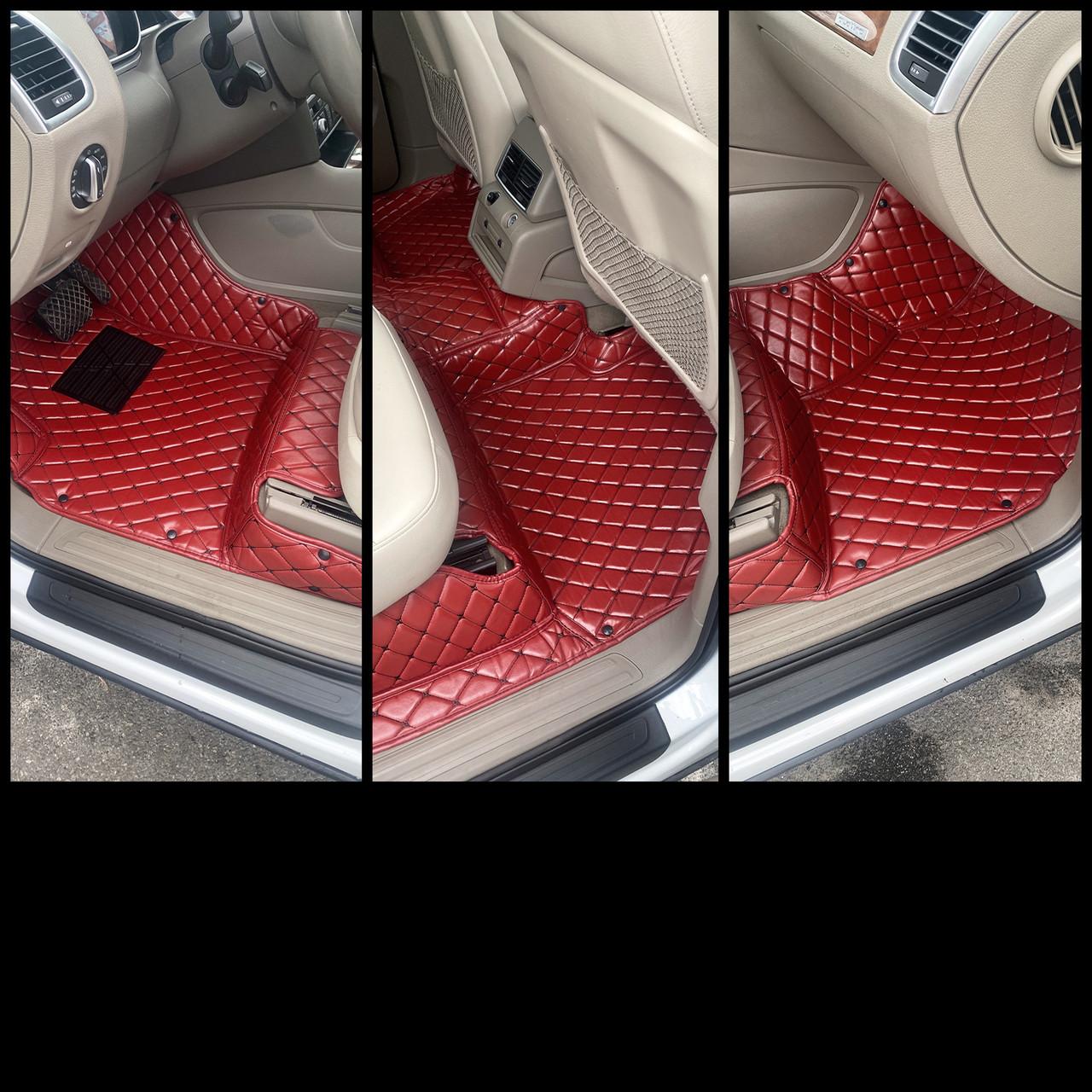Комплект килимків з екошкіри для Mercedes G-class, від 2013 року
