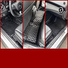 Комплект килимків з екошкіри для Bmw X5 F15, фото 2