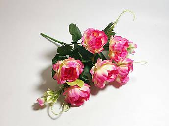 Искусственные цветы. Букет пионов, ванильно-розовый.