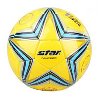Мяч футзал №4 Клееный-PU STAR FB-2632