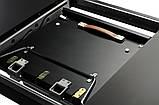 Стіл обідній розсувний TML-560 матовий чорний 120/160х80 (безкоштовна доставка), фото 9