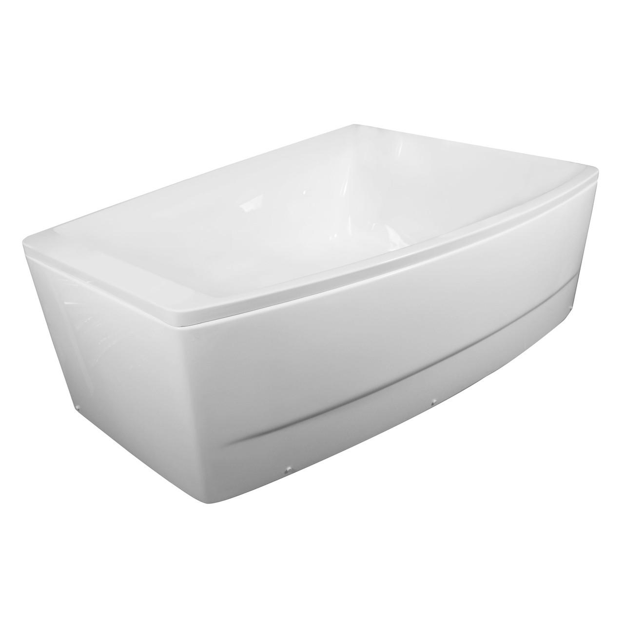 Ванна 170*120*63см асимметричная, правая, без гидромассажа