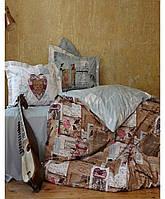 Постельное бельё Перкаль хлопок Karaca Home 24