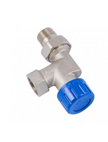 Термостатический клапан Schlosser никелированный аксиальный DN 15 GZ 1/2xGW1/2