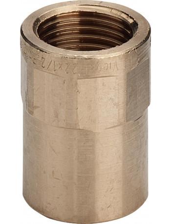 "Муфта Ø12 х 1/2"" В (бронзовая) -104214 Viega GmbH 94270g"