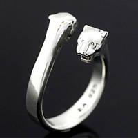"Серебряное кольцо ""Пантера"" от WickerRing"