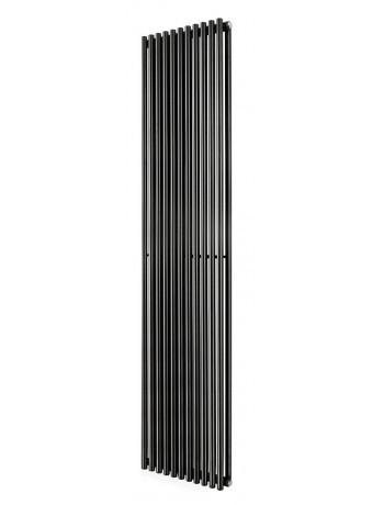 Трубчатый радиатор Betatherm Praktikum 1 1800x463x90 мм вертикальный RAL9005 (чёрный-матовый)