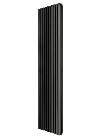 Трубчатый радиатор Betatherm Quantum 1 1800x405x104 мм вертикальный RAL 9005 (чёрный-матовый)