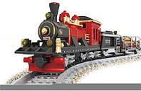 Конструктор Ausini Поезд: Грузовой поезд, 410 деталей арт. 25705