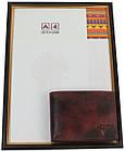 Мужское кожаное портмоне ALWAYS WILD SN992HP3 Rust, фото 4