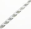 Светодиодная лента 60см на 3М скотче, СИНЯЯ,  в силиконе. Динамическое мерцание., фото 3