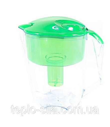 Фільтр-глечик Наша Вода «Максима» зелений