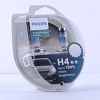 "Лампа 12V H4  60/55W +150% X-treme Vision Pro ""Philips"" (Box-2шт)  (12342XVPS2)"