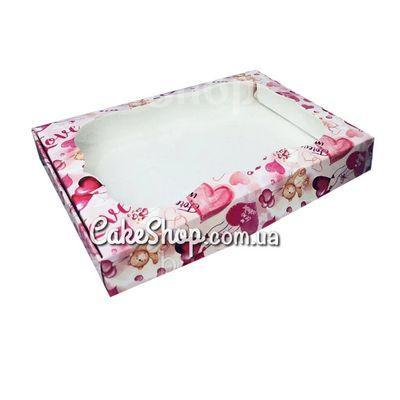 Коробка для пряников Мишка с шариками, 15х20х3 см