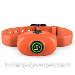Електронний нашийник антилай для собак Pet Dog 300 водонепроникний Помаранчевий