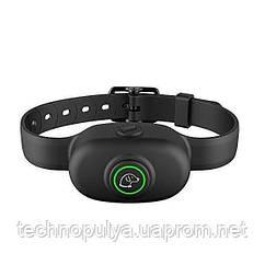 Електронний нашийник антилай для собак Pet Dog 300 водонепроникний Чорний