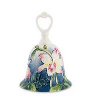 """Фарфоровый колокольчик """"Орхидея"""" (Pavone) JP-96/13"""