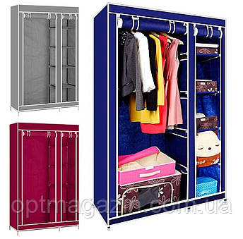 Тканевой шкаф для одежды Clothes Rail With Protective Cover №28109 B-156, фото 2