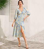 Платье женское в стиле Бохо Bloom Berni Fashion (S)