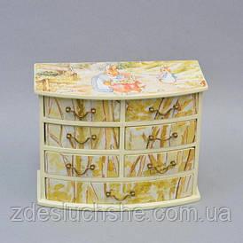 Декоративний комодик Зайці SKL11-209251