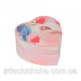 Скринька для ювелірних прикрас Birds серце SKL11-208512