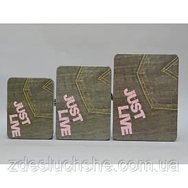 Скринька з 3 штук метал SKL11-208064
