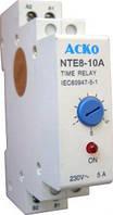 Реле времени NTE8-10A (STE8-10A) задержка отключения