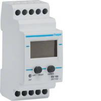 Реле контроля напряжения Hager, с вольтметром, 1-фазное, регулируемое, 2м