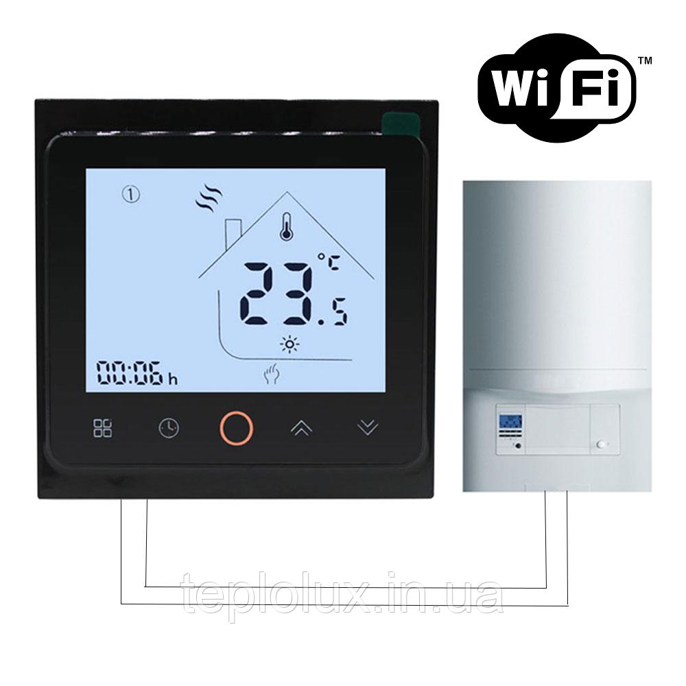 WiFi терморегулятор для котлов (газовых и електрических) BHT-002-GCW
