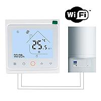 WiFi терморегулятор для котлов (газовых и електрических) BHT-002-GCW, фото 1