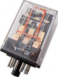 Промежуточные реле АСКО-УКРЕМ МK3P (AC 24 V)