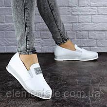 Туфлі жіночі шкіряні Fashion Hayden 1894 36 розмір, 23,5 см Білий