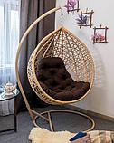 Підвісне крісло кокон АртВуд, фото 5