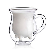 Набор молочников с двойным дном Herisson EZ-3062 - 2 чашки 240 мл