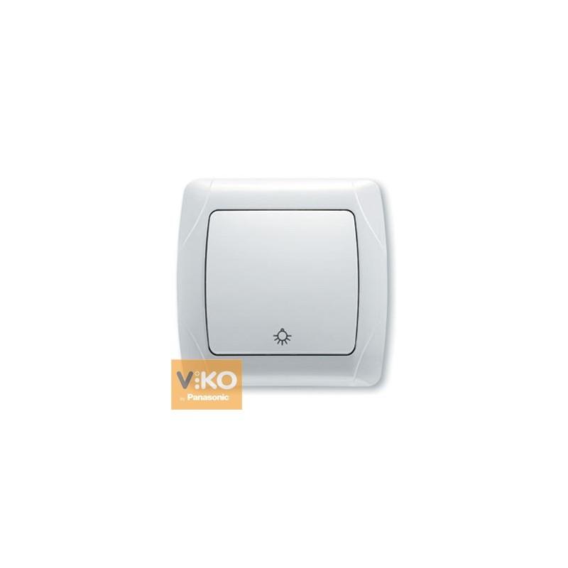 Выключатель кнопочный VIKO Carmen - Белый