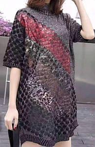 Люрексові жіночі сукні. Туніки. 2021р