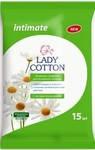 Вологі серветки Intimate з ромашкою Lady Cotton