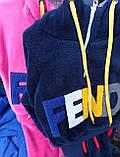 Утепленный детский спортивный костюм для девочки, фото 5