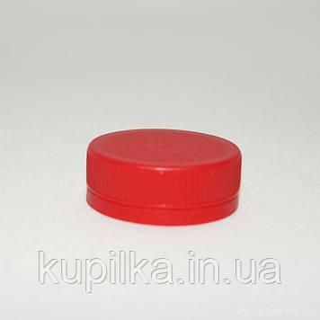 Крышка для ПЭТ бутылки красная